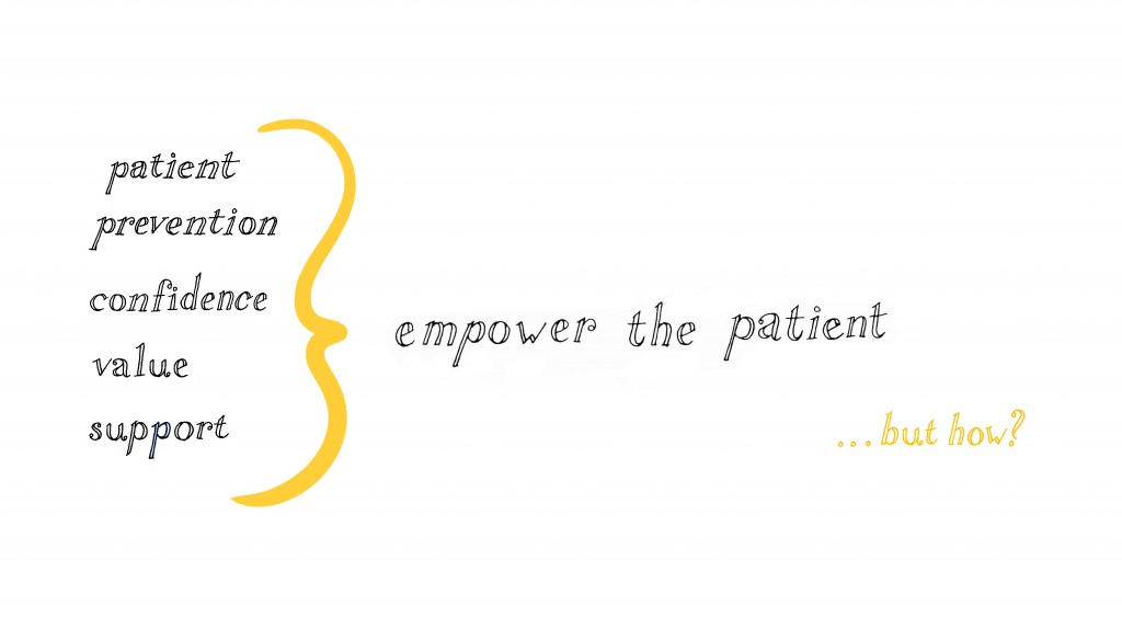 Patient empowerment illustration