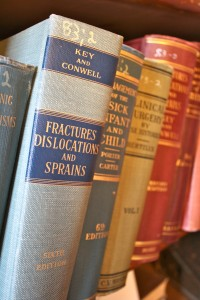 Historical medical books