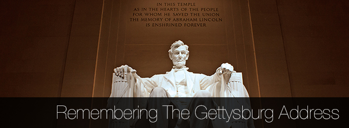 Remembering the Gettysburg Address