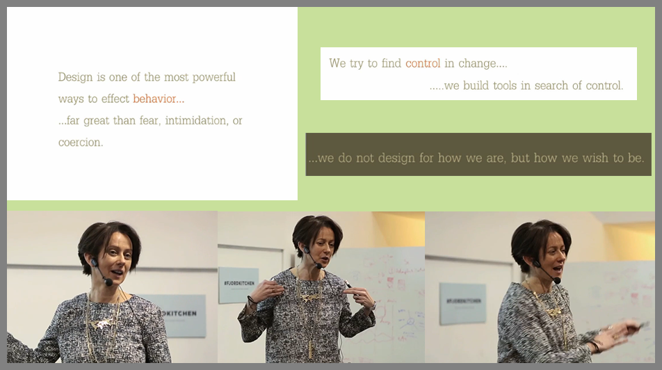 Lorna Ross Speaking at Fjord Kitchen talks