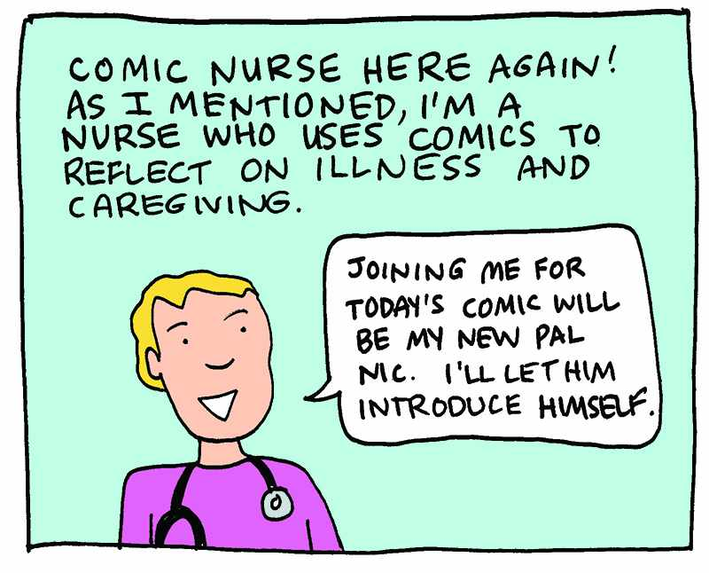 What Makes a Comic Work in Health Care?