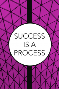 Success is a process