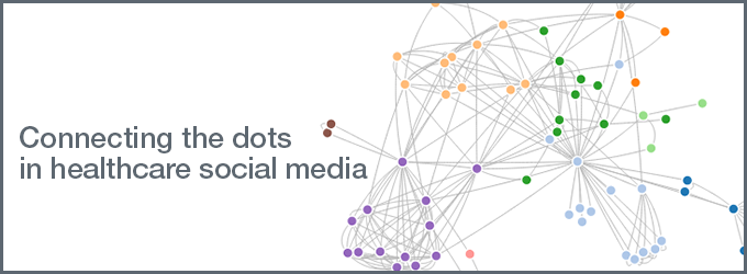 Connecting the dots in healthcare social media
