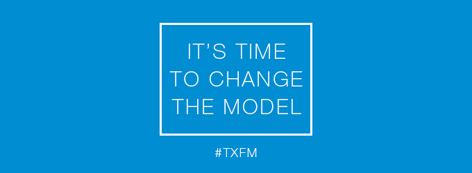 It's time to change the model