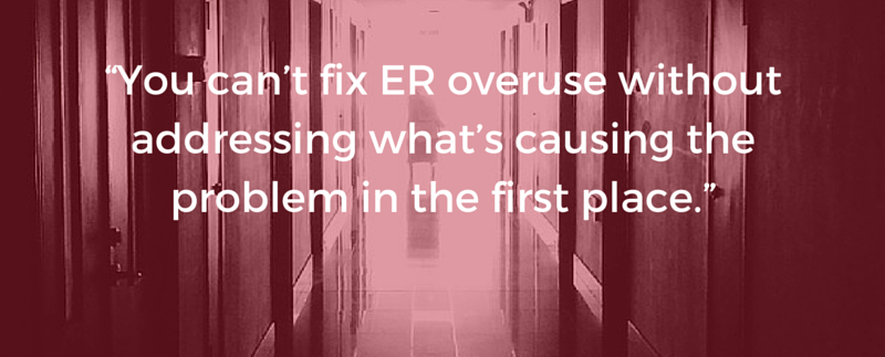 ER Overuse - Mayo Center for Innovation - Healthcare Design