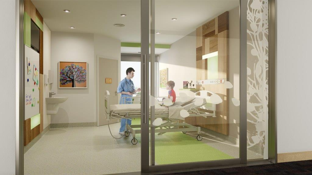 The ward will be able to accommodate more patients than before