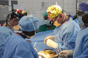 Dr Nicholson is one of Open Heart International's most active volunteers