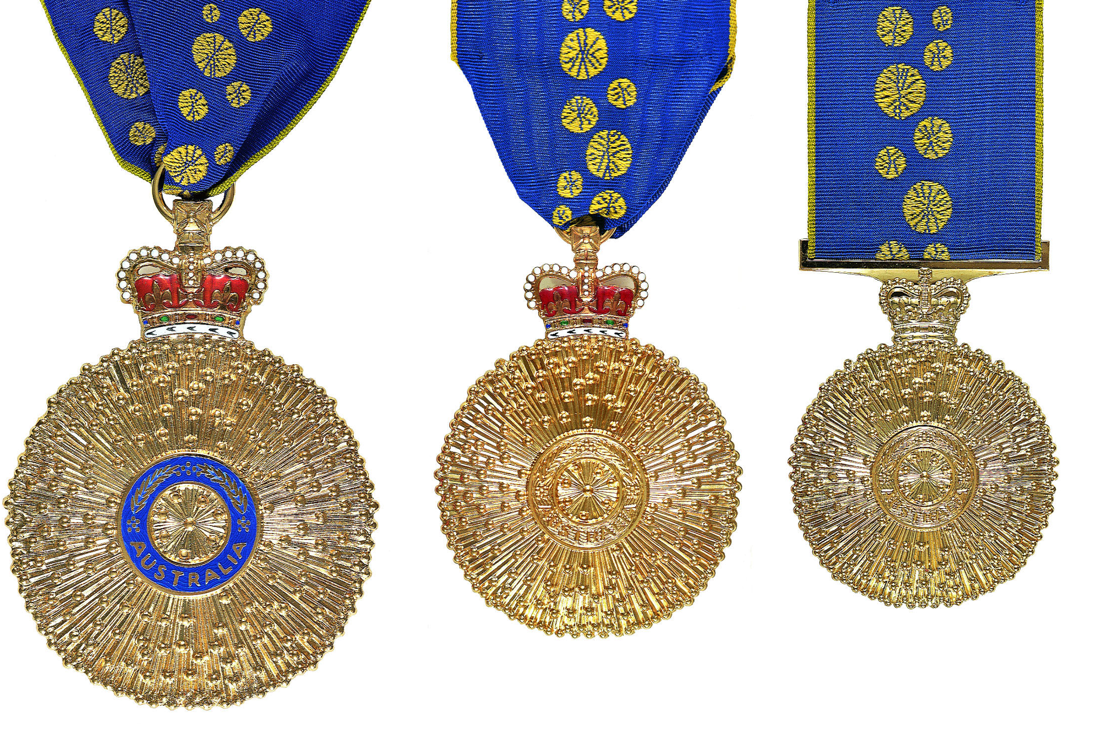 how to wear order of australia medals