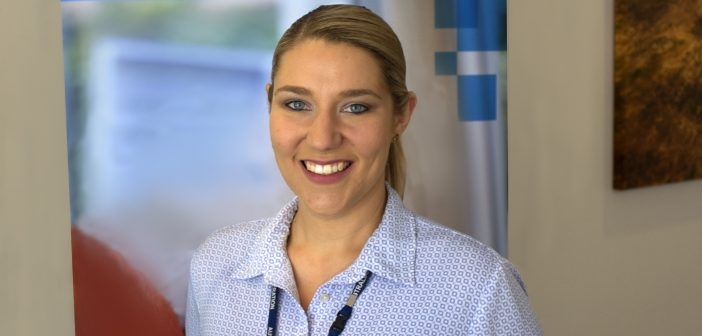Samantha Johnson, a nominee in the Outstanding Graduate category of the HESTA Australian Nursing and Midwifery Awards.