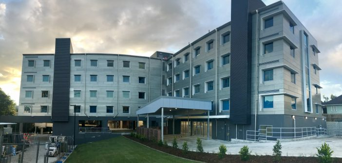 St Andrew's Ipswich Private Hospital has completed the first stages of a major redevelopment project.