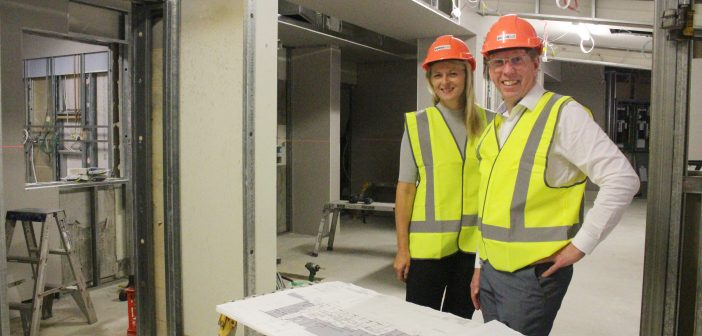 Construction has begun on Buderim Private's new emergency centre.