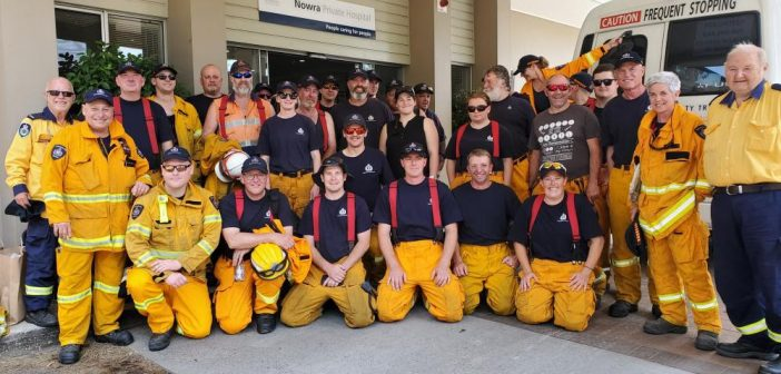 Nowra Private Hospital was one of the Ramsay facilities offering support to emergency services during the bushfire response.