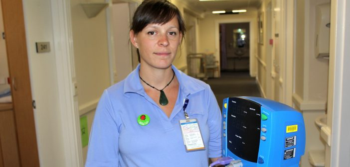 Hospital support helps nurse to flourish after tragic loss