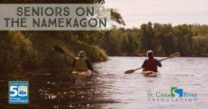 Senior Kayaking on the Namekagon - Wednesday, July 25th - MN