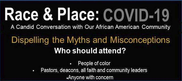 Race & Place COVID-19: Dispelling the Myths