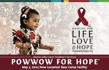 Powwow for Hope poster