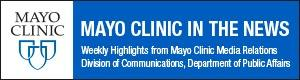 Mayo Clinic in the News logo