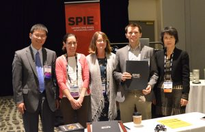 Best poster awarded at SPIE Medical Imaging Conference