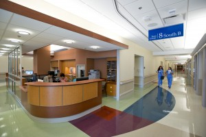 New hospital floors at Mayo Clinic in Florida