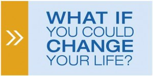 What if you could change your life button
