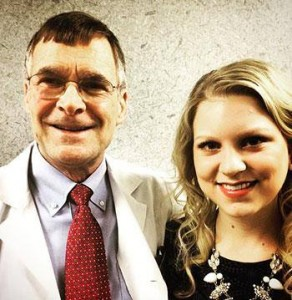Edgar Hicks, M.D., Orthopedics, and Kelsey Stuttgen