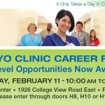 Mayo Clinic Career Fair - Heintz Center
