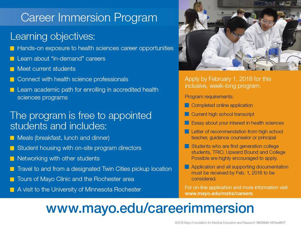 Career Immersion 2018 |