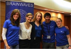 Brain Awareness Week Event planning Committee. Left to right: Erika Ross, Robin Willenbring, Amelia Van Handel, Dan Mellema, Kate Wilton (not pictured: Josh Warner)