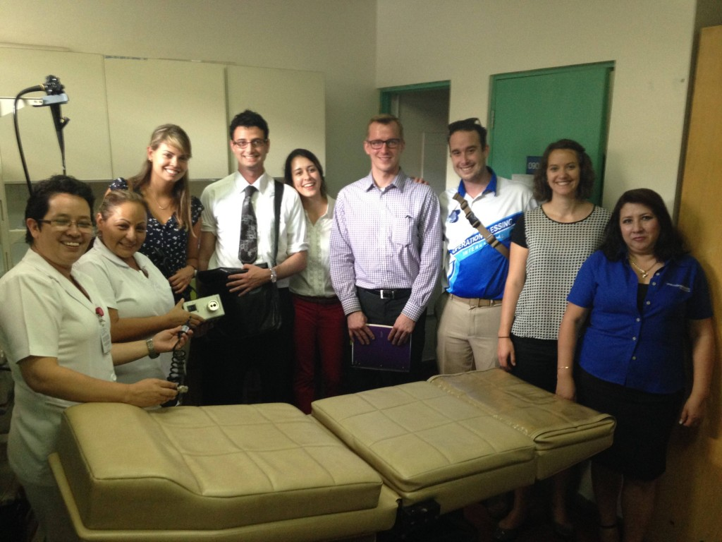 The IMES team from Mayo Clinic in San Salvador, September 2015.