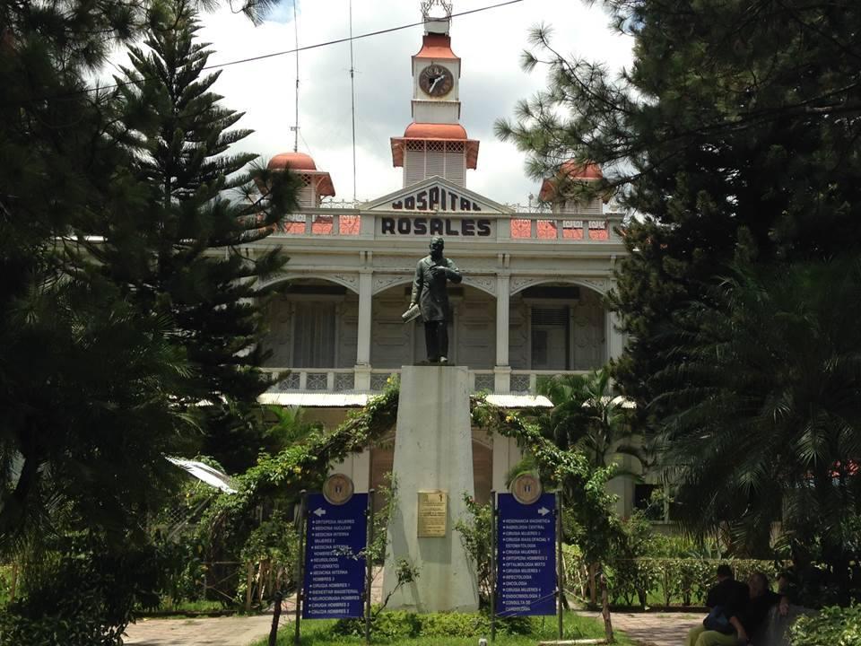 Hospital Nacional Rosales, San Salvador, El Salvador.