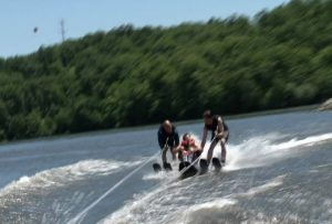 A day on the lake with the participants of the National Wheelchair Sports Camp.