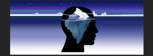 Consciousness is just the tip of the iceberg. PC: https://lisagawlas.files.wordpress.com/2015/04/conscious_subconscious_unconscious1_longated.png