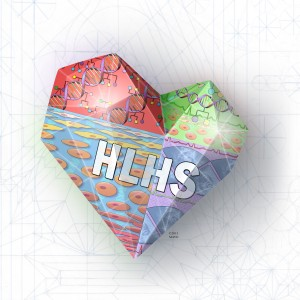 HLHS heart with label