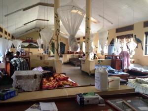The pediatrics ward at Bwindi Community Hospital