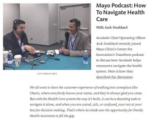Mayo Podcast: how to navigate health care