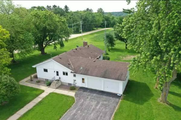 Drone View of Farm House