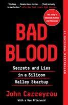 Virtual Book Club - Bad Blood:  Secrets and Lies in a Silicon Valley Startup by John Carreyrou