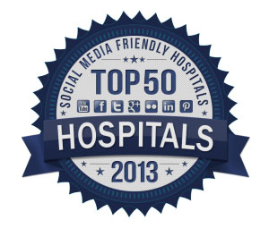 top 50 hospitals badge