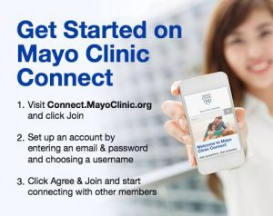 How to get started on Mayo Clinic Connect