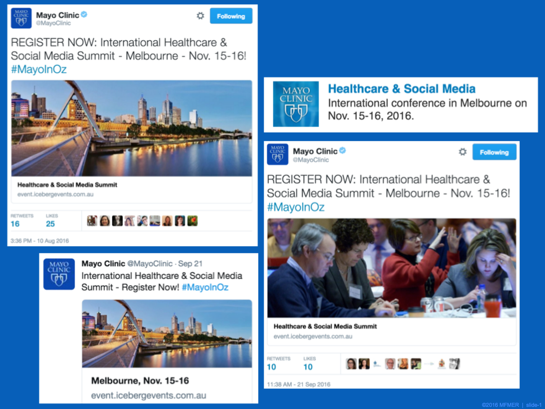 A Focused Look at Twitter Advertising for #MayoInOz | Mayo