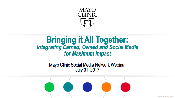 Bringing it All Together: Integrating Earned, Owned and Social Media for Maximum Impact