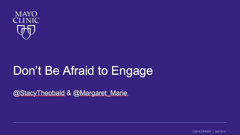 Social Media is Social – Don't Be Afraid to Engage