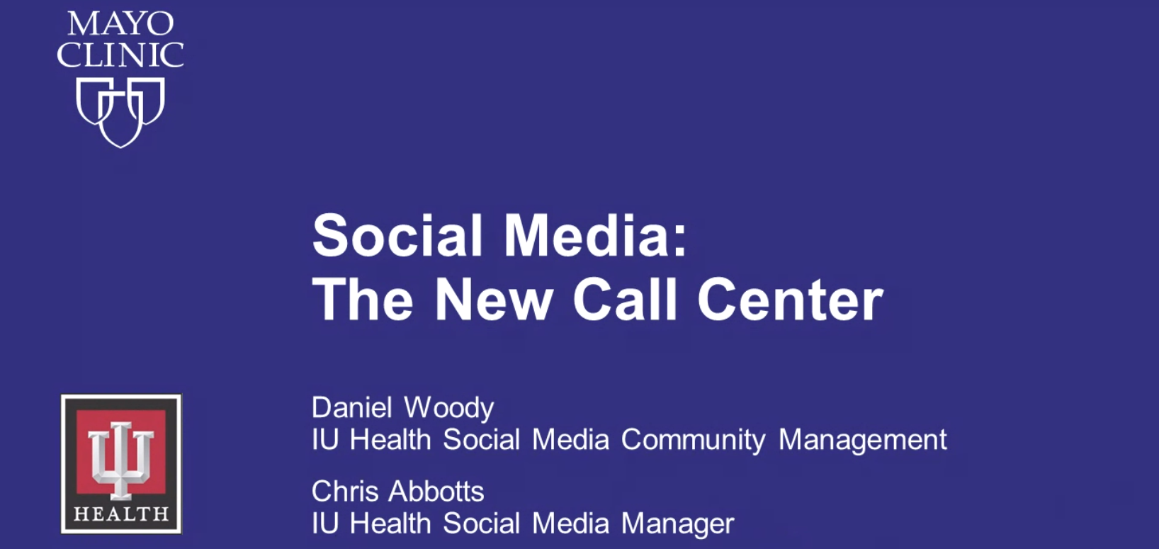 Social Media: The New Call Center