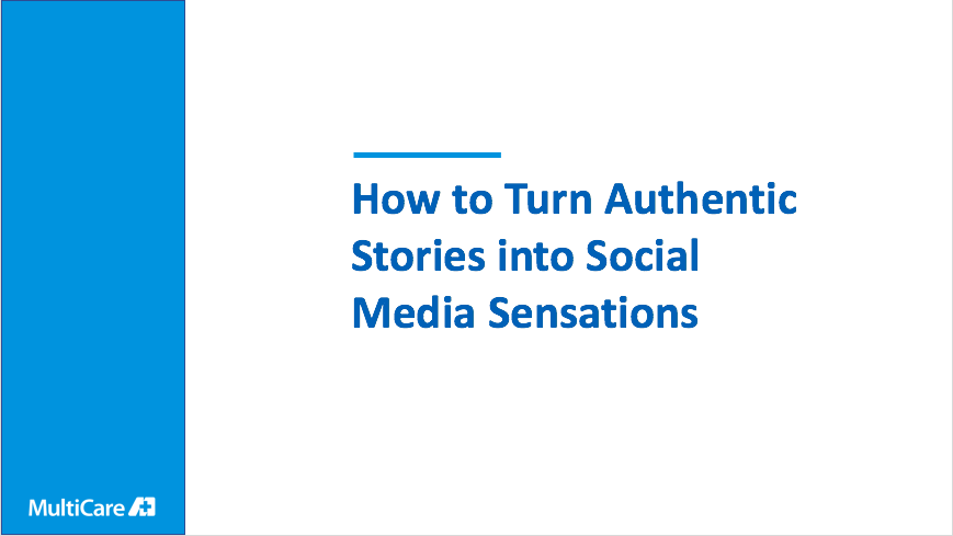 How to Turn Authentic Stories into Social Media Sensations