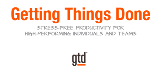 """Getting Things Done (GTD) Training"""