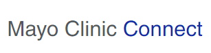 Mayo Clinic Connect