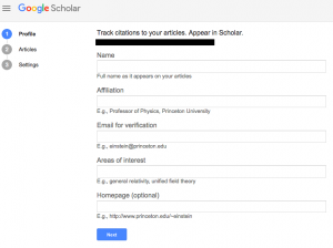 Have You Heard of Google Scholar?