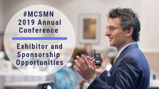 MCSMN Annual Conference Exhibitor and Sponsorship Opportunities