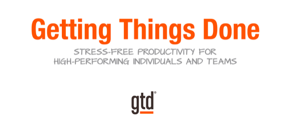 Getting Things Done (GTD) Training