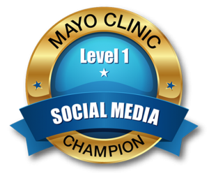 Mayo Clinic Champions Badge Level 1 large cropped